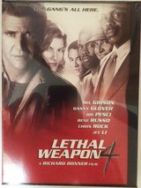 Lethal Weapon 4 DVD new sealed in Plainfield, Illinois