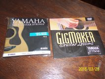 Yamaha Folk Guitar Strings & Guitar Lessons DVD in Alamogordo, New Mexico