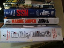 4 paperback books in Fort Drum, New York