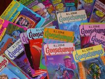 Looking for Goosebumps Books in Fort Benning, Georgia