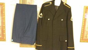 Dress blues in Fort Campbell, Kentucky