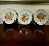 Set of 3 Fruit Plates, Bavaria Germany in Chicago, Illinois