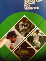 1973 Kansas City Royals yearbook in Warner Robins, Georgia