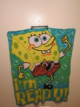 Spongebob Squarepants I'm Ready Throw-Blanket in Camp Lejeune, North Carolina