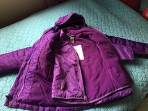 3 in 1 winter jacket/ size XS TP 4-5/ water resistant/ in Schaumburg, Illinois