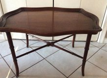 Coffee Table with Removable Tray - Vintage - Wood - REDUCED in Fairfax, Virginia