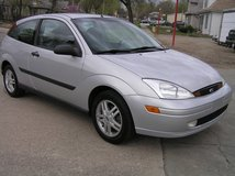 00 Ford Focus ZX3 4 Cyl Auto NEW TIRES in Fort Riley, Kansas