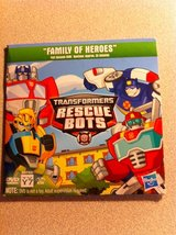 DVD Transfomers Rescue Bots - Family of Heroes in Batavia, Illinois