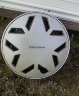 Set of Four 14 inch 4 lug rims and hubcaps in Warner Robins, Georgia