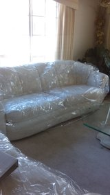 White Couch and love seat in Naperville, Illinois