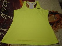 Fila bright yellow/lace tank top Large in Fort Riley, Kansas