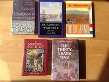 History Books on War from 2000 BC to 1815 in Ramstein, Germany