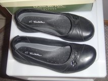 Thom McAn black leather black flats 7 1/2 in Fort Riley, Kansas