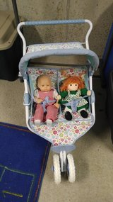 Bitty Baby Twin Stroller in Lockport, Illinois