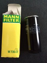 """Mann Filter""Spin-on oil filter W735/2(Audi) in Westmont, Illinois"