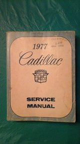 Service manual cadillac in Elgin, Illinois