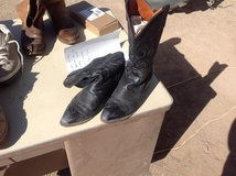 Handmade cowboy boots 9.5 in Alamogordo, New Mexico