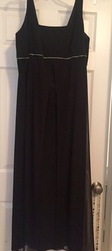 Black formal gown in Fort Drum, New York