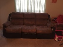 sofa with reclining seats in MacDill AFB, FL