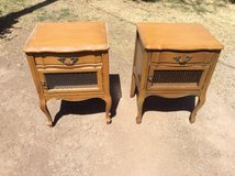 Pair Of Light Brown Bed Side Or End Tables in Alamogordo, New Mexico