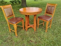Pub / Bar Height Table and Chairs in Fort Polk, Louisiana