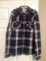 juniors aeropostale blue button down in Fort Riley, Kansas