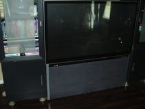 55 inch Tv & 2 Black Towers in Conroe, Texas