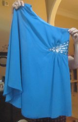 Turquoise Short Prom dress size 5 in Warner Robins, Georgia