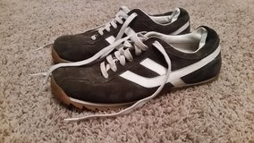 American Eagle Men's Tennis Shoes Size 11  Dark gray with white. Great used condition! in Macon, Georgia