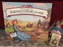 "American Girl Kirsten's World Book, Mini 6"" Kirsten Doll, Stand, Mini Book in Bolingbrook, Illinois"