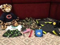 Build A Bear Animal and 3 Outfits, Bears, Fire Fighter Gear, Plus in Bolingbrook, Illinois