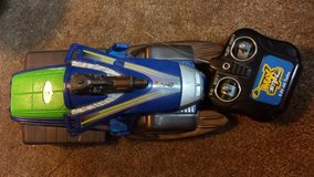 Max Steel 6.0V Jet Turbo Snow Mobile Toy in Conroe, Texas