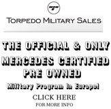 MERCEDES CERTIFIED TORPEDO MILITARY PROGRAM in Stuttgart, GE