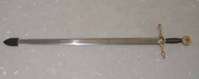 Decorative Masonic sword in Ansbach, Germany