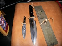 brand new fixed blade 2 piece knife set in Moody AFB, Georgia