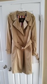 Coach size 12 trench coat in Joliet, Illinois