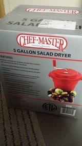 Chef-Master 5-Gallon Salad Dryer, Restaurant Size, New in Kingwood, Texas