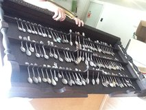 Spoon collection & wooden holder in Orland Park, Illinois
