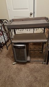 wine cart and wine cooler in Kingwood, Texas