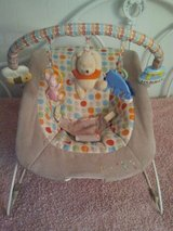 Winnie the Pooh baby bouncer in Lockport, Illinois