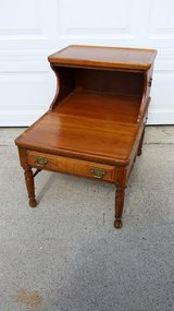 Vintage Cedar Wood End Table in Fort Campbell, Kentucky