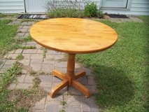 Oak Drop Leaf Table in Hinesville, Georgia