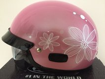 Ladies Pink Motorcycle Helmet in Bartlett, Illinois