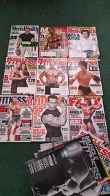 Fitness/Bodybuilding Magazines (Back Issues) in Joliet, Illinois
