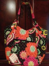 New With Tags! Retired Vera Bradley Crescent Handbag- Ziggy Zinnia (Retails $75) in Moody AFB, Georgia