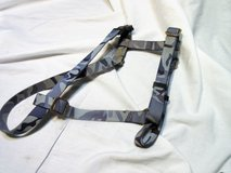 Blue Camo Medium Dog Harness Adjustable in Kingwood, Texas