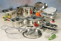 22 Piece Nutri Stahl Cookware Set (NIB) in Warner Robins, Georgia