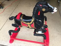"Beautiful Rocking Horse ""Midnight"" by Hedstrom - Ages 1 to 6 in Lockport, Illinois"
