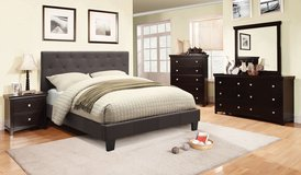 ((( 0N SALE )))QUEEN PLATFORM BED FREE DELIVERY in Huntington Beach, California