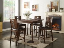 5PC COUNTER HEIGHT DINING SET FREE DELIVERY in Huntington Beach, California